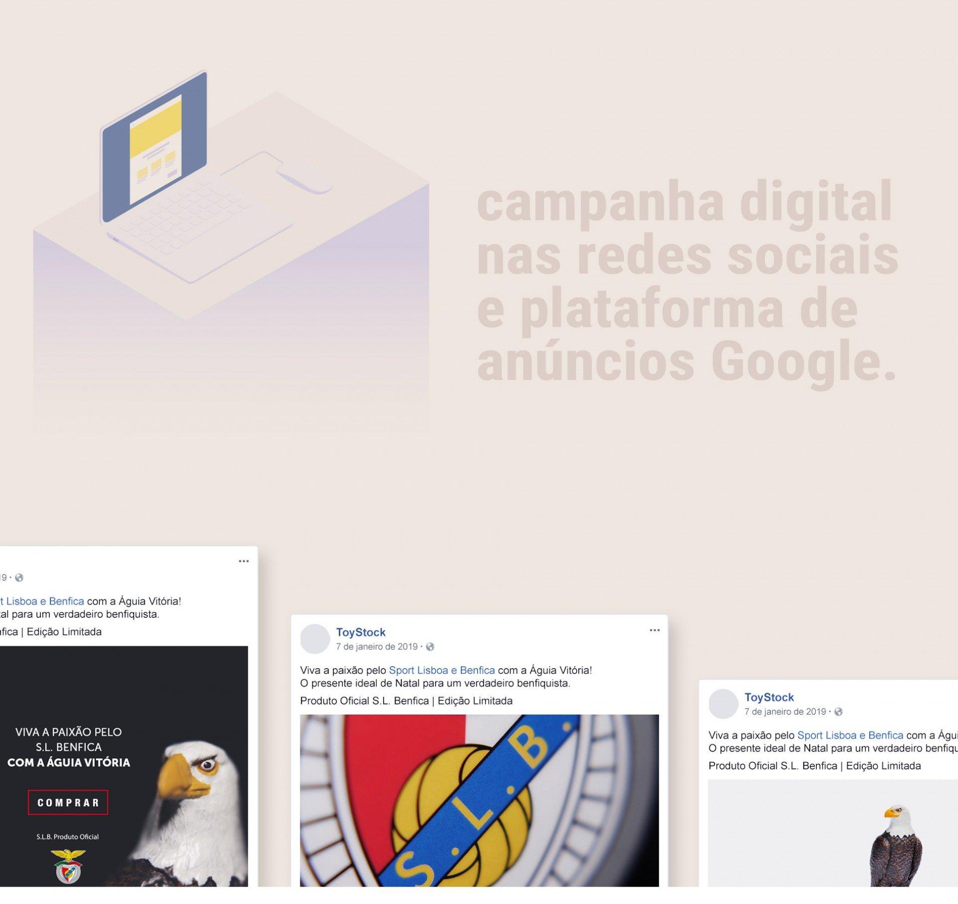 Campanha digital nas redes sociais