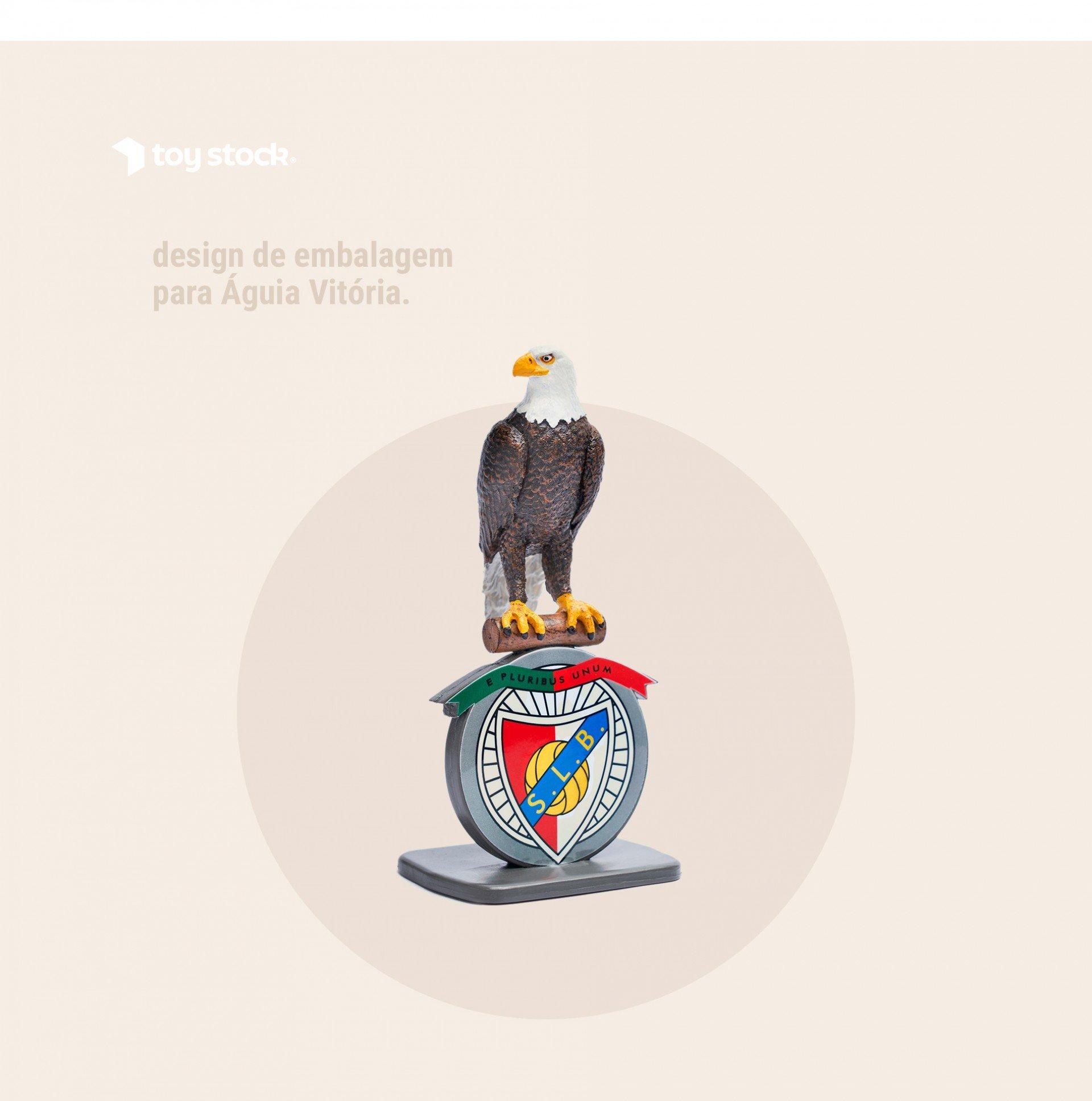 Design Embalagem Águia Vitória
