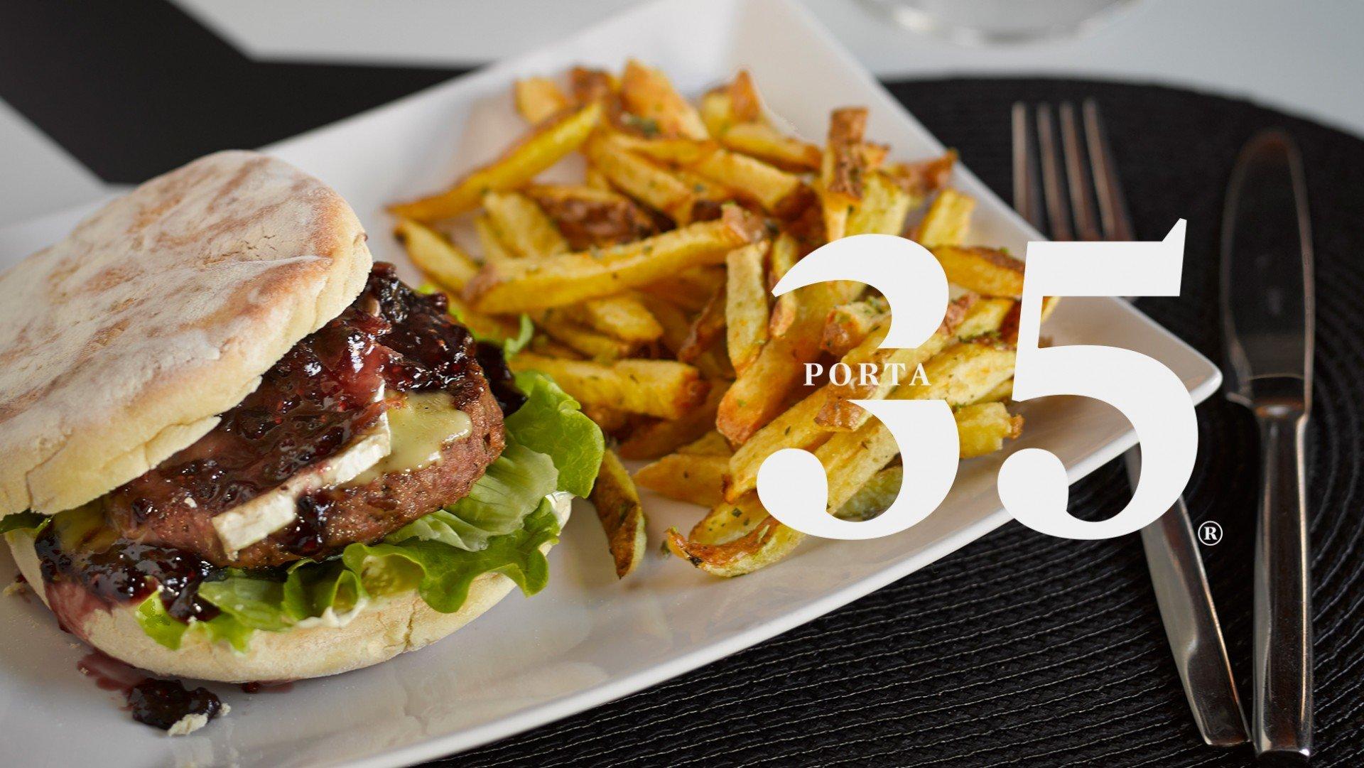 hamburguer porta 35