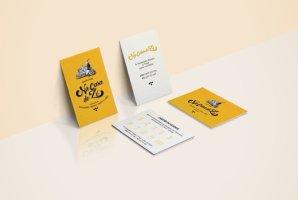 Logótipo, cartões, decoração e flyers.