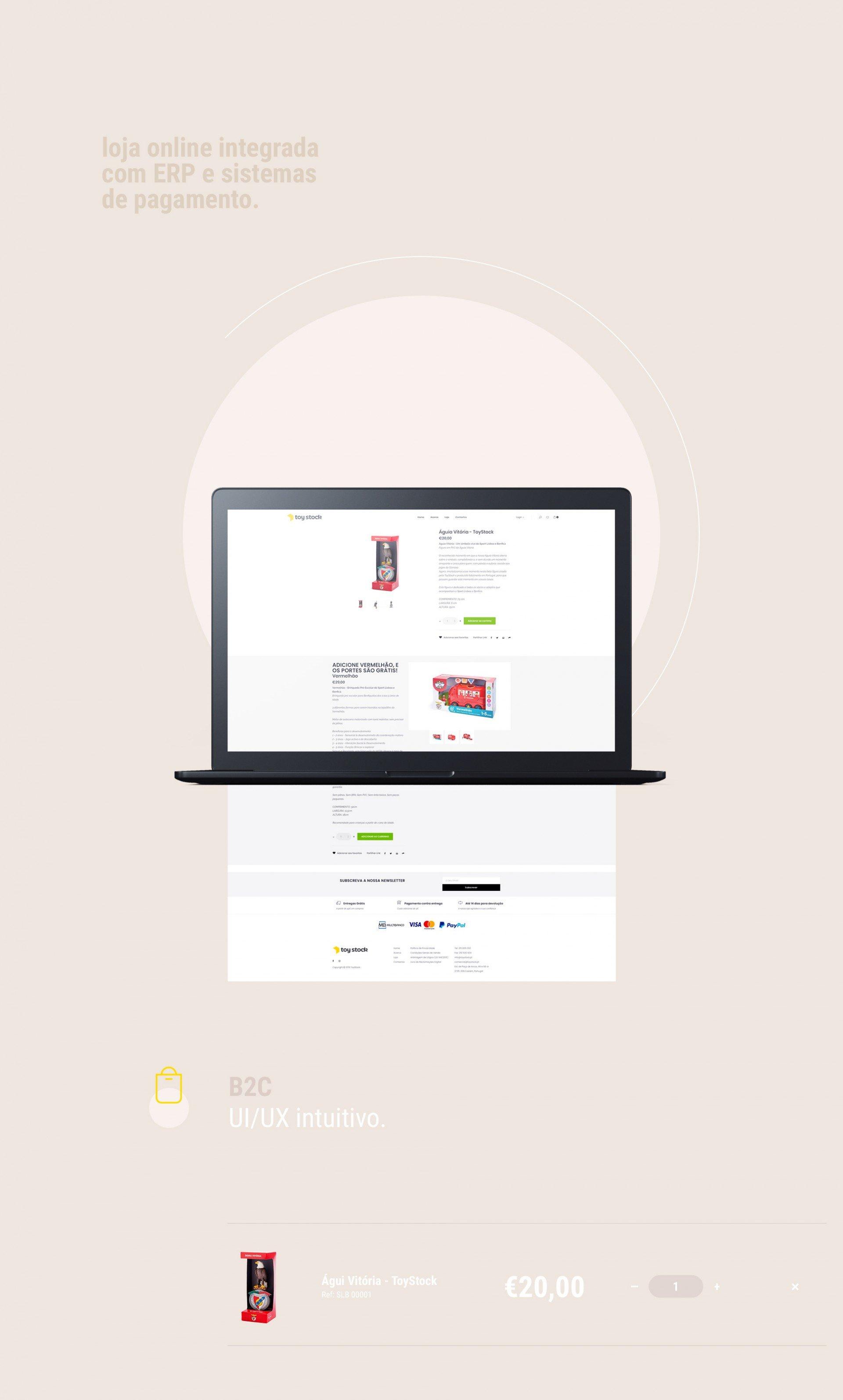 Loja Online integrada com ERP e sistemas de pagamento