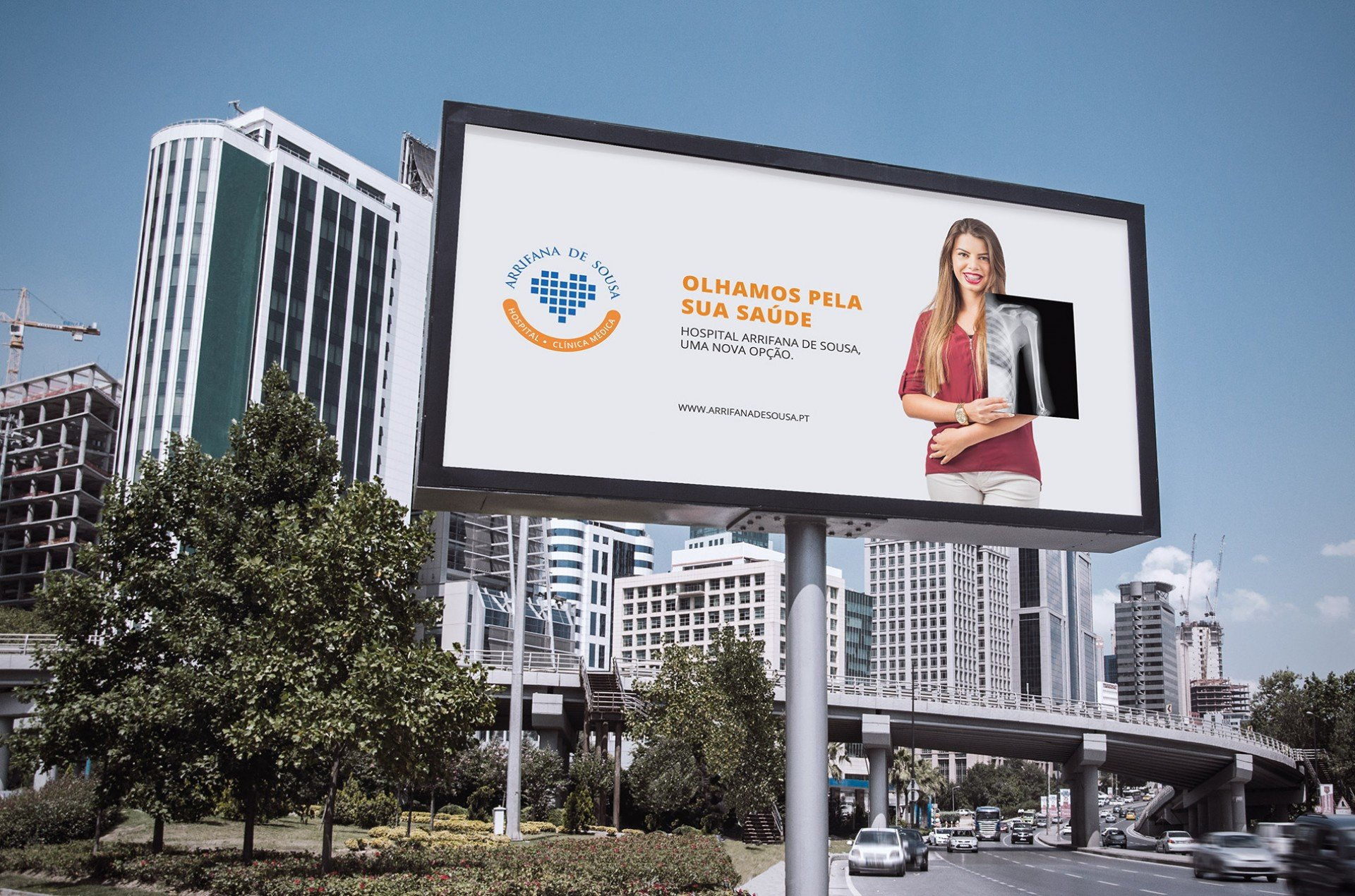 outdoor campanha hospital arrifana de sousa