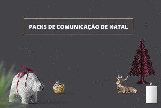 Packs de Comunicação de Natal